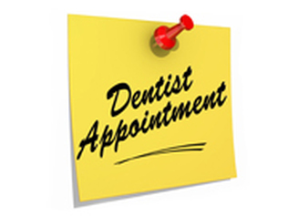 Note about a dentist appointment