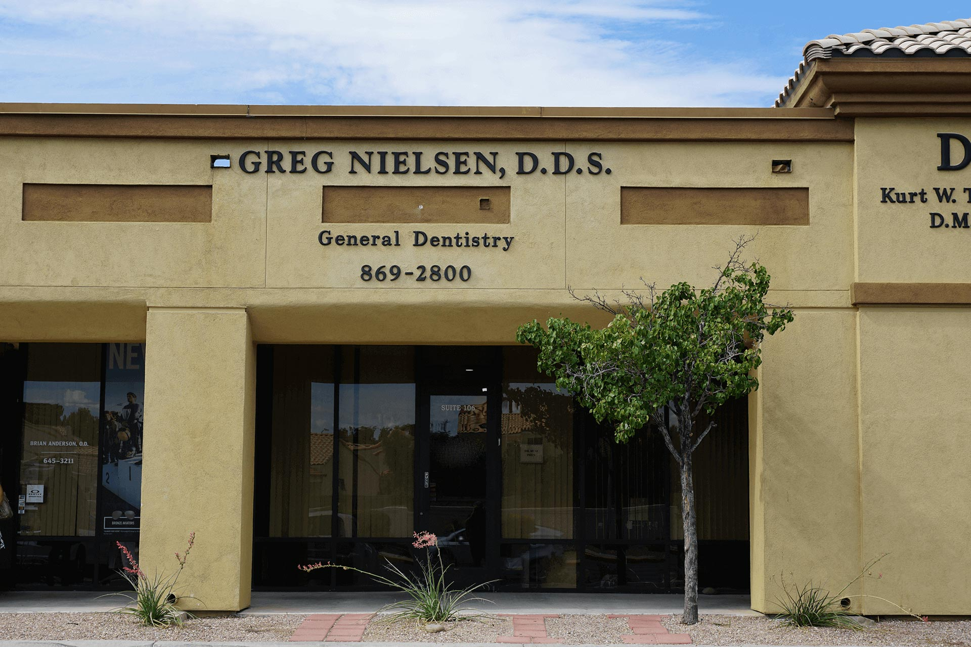 Nielson and Phen Dental's building